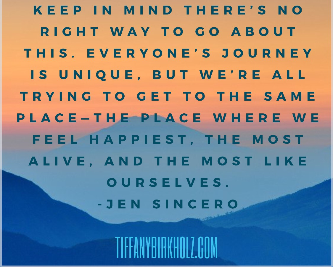Jen Sincero Quotes Thoughtful Thursday  Coach Tiffany Birkholz